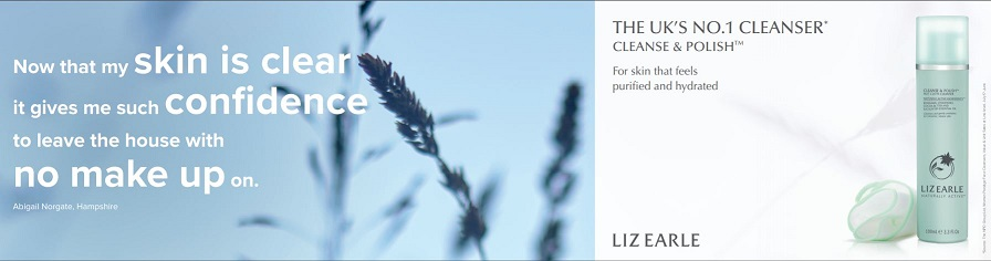 Liz Earle Homepage Screenshot