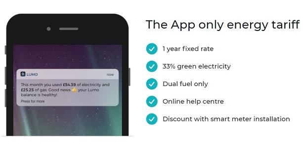 Lumo Energy App