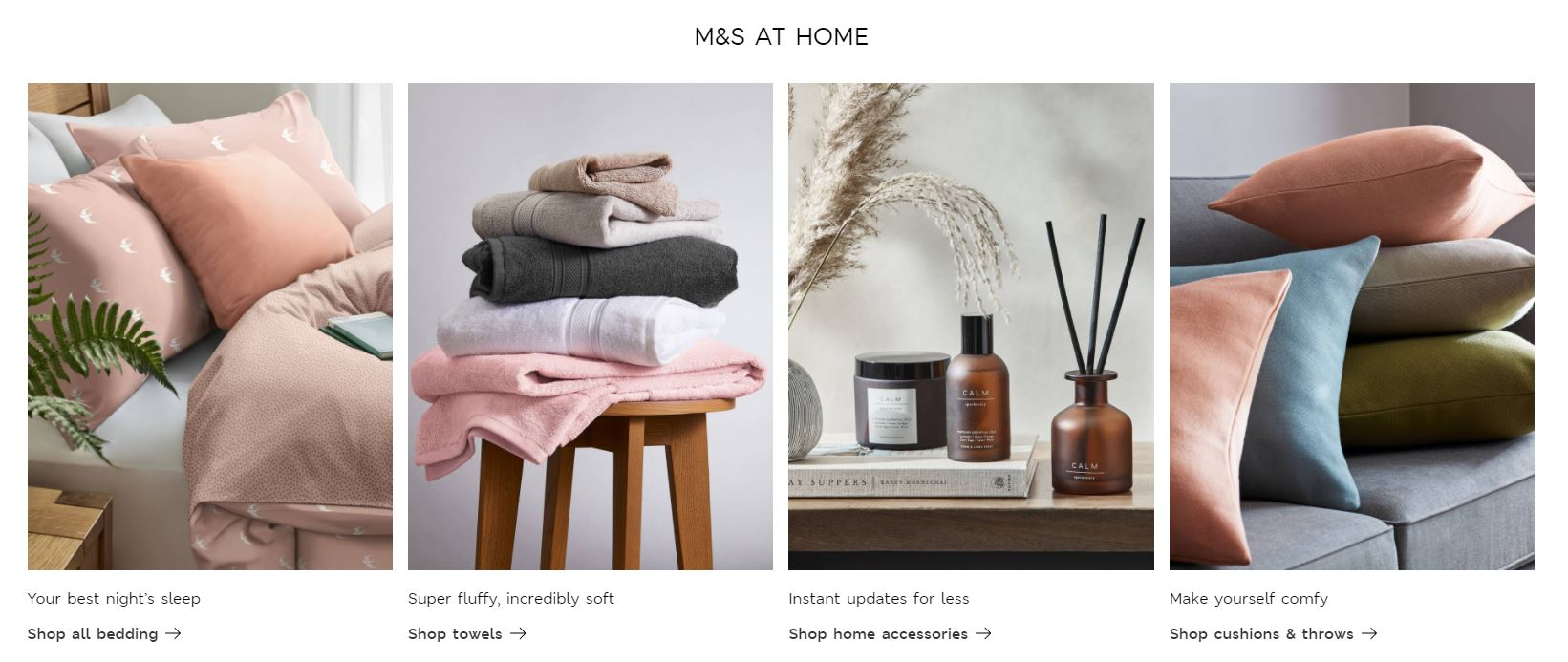 Marks & Spencer Homepage