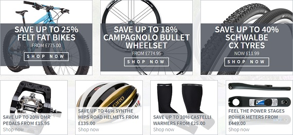 Merlin Cycles Products