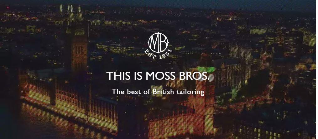 Moss Bros British Tailoring