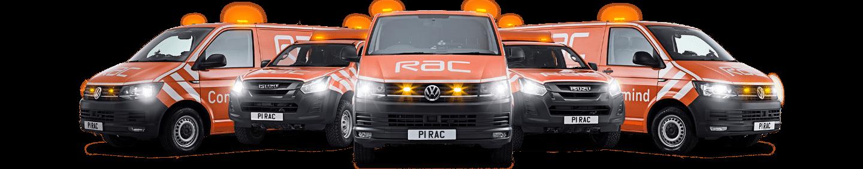 RAC UK Breakdown Vans