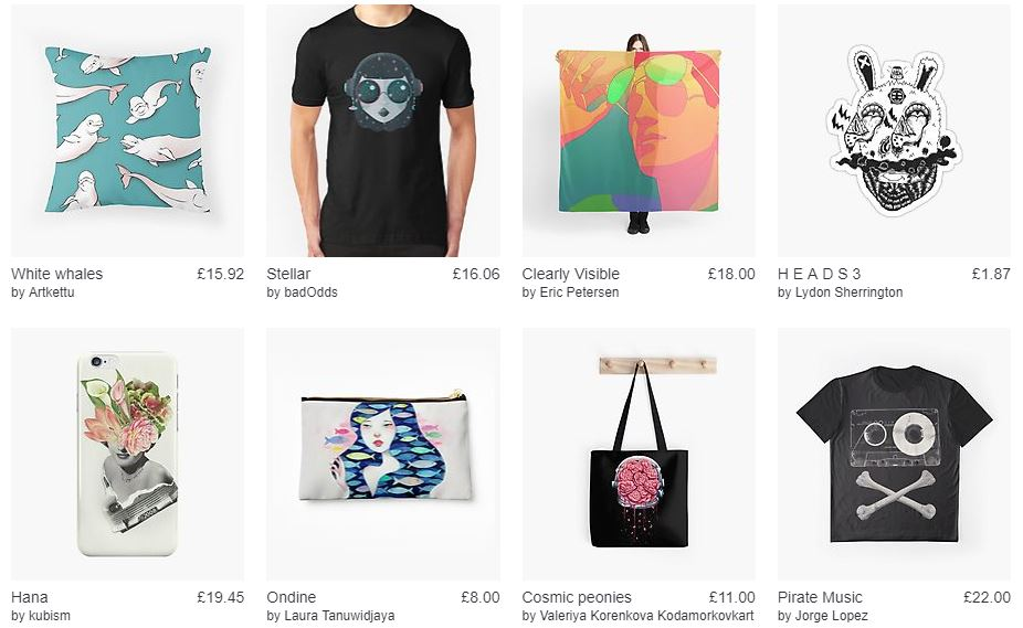 Redbubble Feed