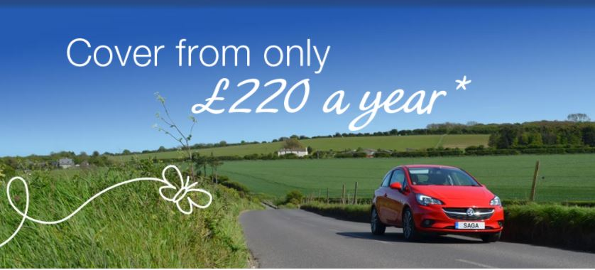 Saga £220 Car Insurance