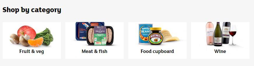 Sainsbury's Homepage