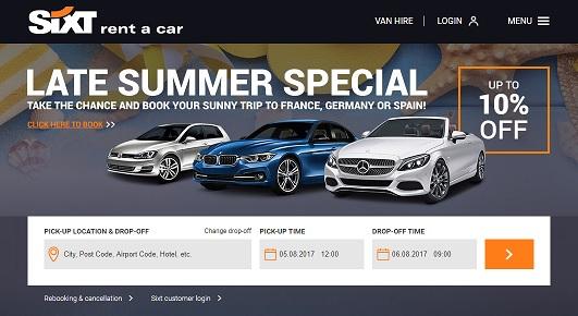 Sixt Uk Discount Codes Sales Cashback Offers Deals