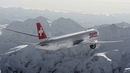 Swiss International Airline Flight