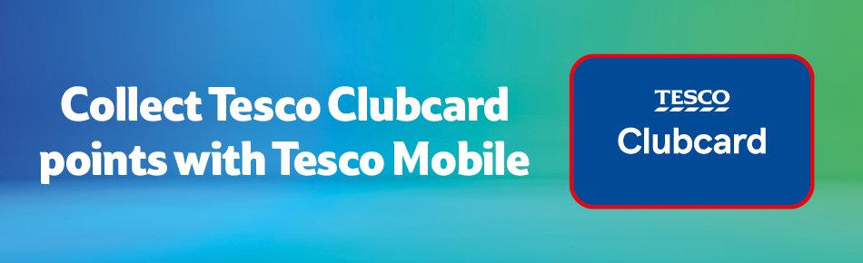 Tesco Mobile Clubcard Points