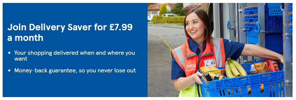 Tesco Groceries Homepage