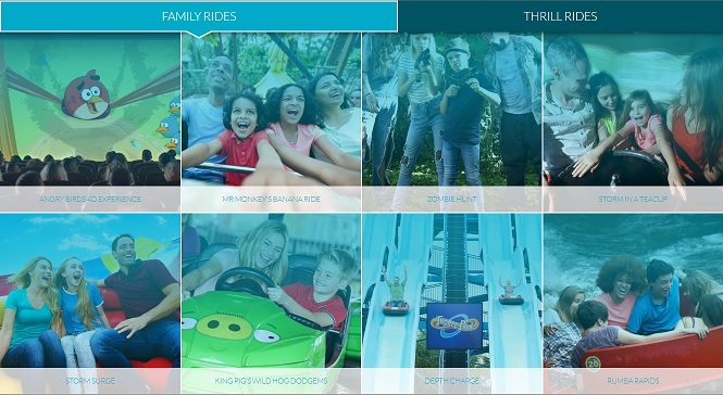 Family Rides at Thorpe Park