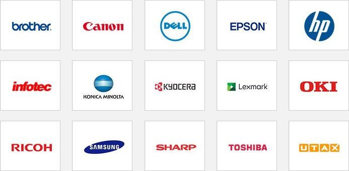 TonerGiant Supported Brands