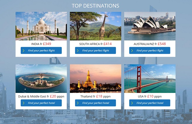Travel Trolley Destinations