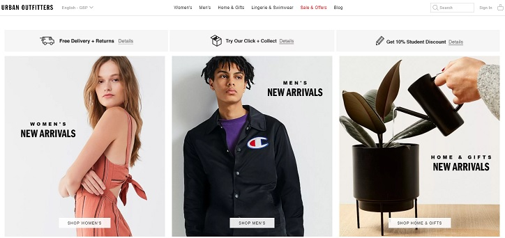 Urban Outfitters Discount Codes Sales Cashback Offers Deals