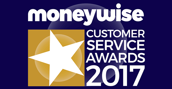 Moneywise award logo