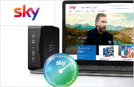 Sky Digital TV Broadband - New Customers