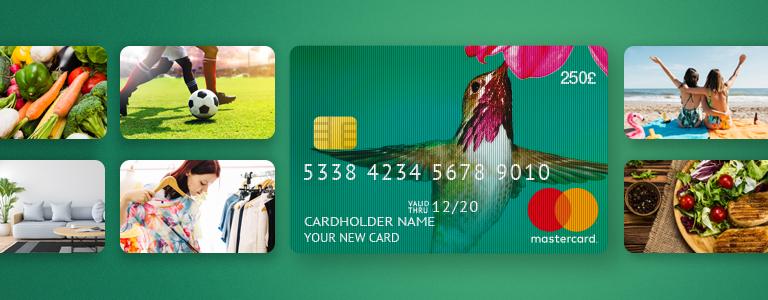 MasterCard PrePaid Card