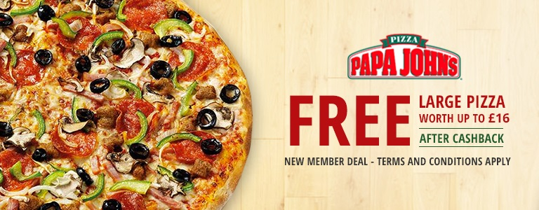 free large pizza