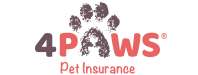 4Paws Pet Insurance Logo