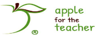 Apple For The Teacher Logo