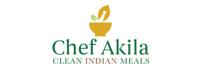 Chef Akila's Gourmet Ready Meals Logo