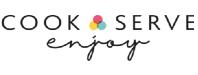 Cook Serve Enjoy Logo