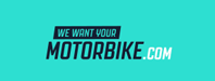 We Want Your Motorbike.com Logo