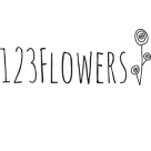 123 Flowers Square Logo