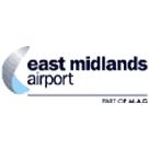 East Midlands Airport Parking Square Logo