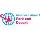 Aberdeen Airport Park & Depart Square Logo