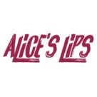 Alice's Lips Square Logo