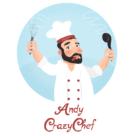 Andy Crazy Chef Square Logo