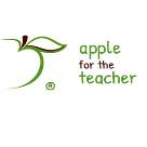 Apple For The Teacher Square Logo