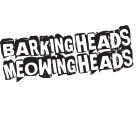 Barking Heads & Meowing Heads Square Logo