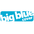 Big Blue Travel Cover Square Logo