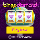 Bingo Diamond Square Logo