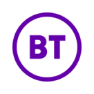 BT Business Broadband Square Logo