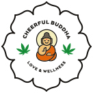 Cheerful Buddha Square Logo