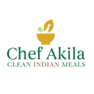 Chef Akila's Gourmet Ready Meals Square Logo