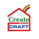 Create and Craft Square Logo
