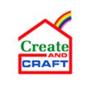 Create and Craft Square Logo