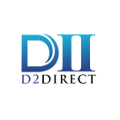 D2 Direct Square Logo