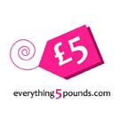 Everything 5 Pounds Square Logo