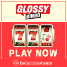 Glossy Bingo Square Logo