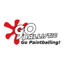 Go Ballistic Paintball Square Logo