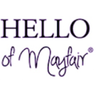 Hello of Mayfair Square Logo