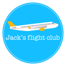 Jack's Flight Club Square Logo