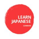 Learn Japanese London Square Logo