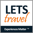 Let's Travel Square Logo