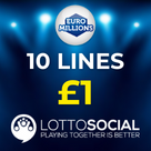 Lotto Social Square Logo