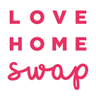 Love Home Swap Holidays Square Logo